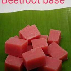 Beetroot Soap Base