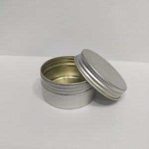 30 Grams Aluminum Tin Container – Pack of 24 PC