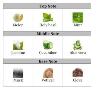Cucumber & Holy Basil Fragrance oil
