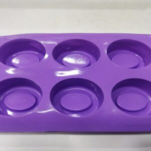 Oval Double Ring - 6 Cavity - 100 Grams