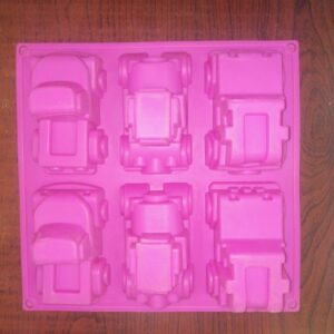 Cars Assorted - 6 Cavity - 80 to 100 Grams